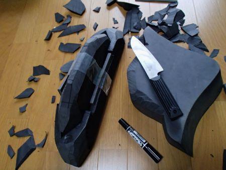 ジャクソンカヤック 2010STAR フットブロック製作03061.jpg