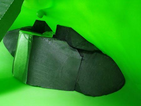 ジャクソンカヤック 2010STAR フットブロック フットフォーム03161.jpg